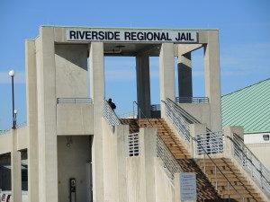 Riverside Regional Jail entrance